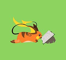 Reading Raichu by tanzelt