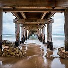 Under Lonsdale Pier - Point Lonsdale Victoria by Graeme Buckland