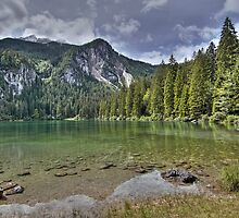 Lake of Tovel - Italy by paolo1955
