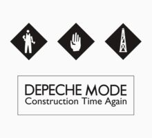 Depeche Mode : Construction Time Again - 3 - Black by Luc Lambert