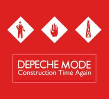 Depeche Mode : Construction Time Again - 3 - White by Luc Lambert