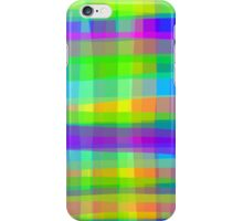 Psychedelic Squares Texture Pattern iPhone Case/Skin