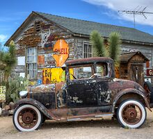 Hackberry Arizona Route 66 by Bob Christopher