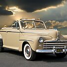 1947 Ford Super Deluxe Convertible w/clouds by DaveKoontz