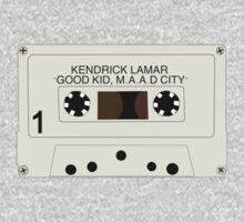 Kendrick Lamar Cassette by SideYrOn