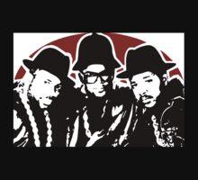 RUN DMC Hip Hop Rap Pop Art by artisu