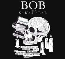 Dresden Files - Bob the Skull (dark shirts) by glassCurtain