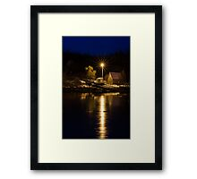 Pre-Dawn on the South Shore Framed Print