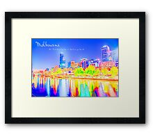 A Colorful Place Framed Print