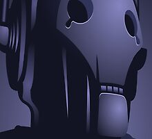 Cyberman from Doctor Who. by iisGavin