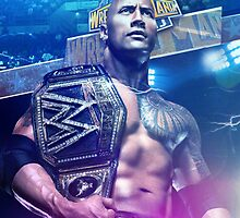 Main Event The Rock - Wrestlemania 29  by Bucky Logo