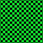 Checkerboard - Green by chrishull