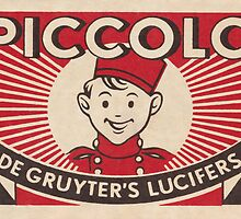Piccolo by Match Box Labels