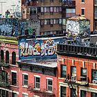 Graffiti Rooftops - New York City by Joel Raskin