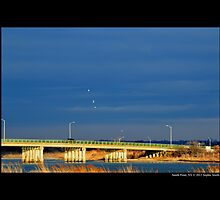 William Floyd Parkway Bridge Detail - Smith Point, New York by © Sophie W. Smith