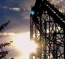 Roller Coaster Sunset by RainyDayPoetry