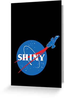SHINY by geekchic  tees