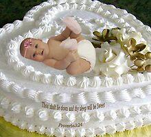 ㋡ SWEET BABY CAKE WITH BIBLICAL SCRIPTURE ㋡ by ✿✿ Bonita ✿✿ ђєℓℓσ