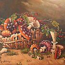 mushrooms by dusanvukovic