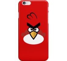 Red and Angry iPhone Case/Skin