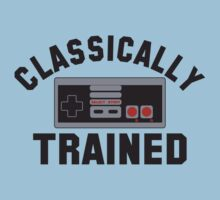 Classically Trained Nintendo T-Shirt by retrorebirth
