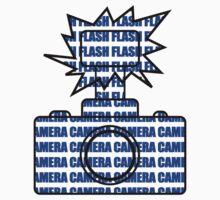Camera SLR Flash_Blue by Phillip Shannon