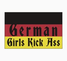 German Girls Kick Ass by HolidayT-Shirts