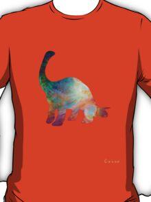 Space Diplodocus T-shirt T-Shirt