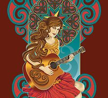 Acoustic Girl by jillsandersart