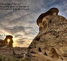 Inspirational Hoodoo Badlands Alberta Canada by pictureguy