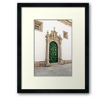 Capela das Malheiras side door Framed Print