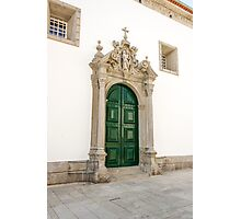 Capela das Malheiras side door Photographic Print