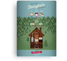 Common Fairytale Narratives Canvas Print