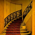 DECO STAIRCASE IN HOTEL PARIS by Thomas Barker