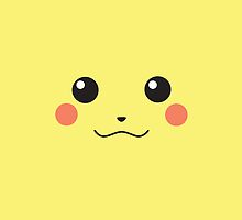 Pikachu's face by Connie Treanor