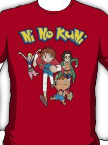 Pokemon + Ni No Kuni = Pokuni? Ninokémon? T-Shirt