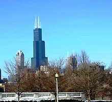 Willis Tower by CanoeComsArt