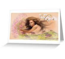 Beyonce's Dream Greeting Card