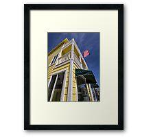Avalon vacation cottage Framed Print