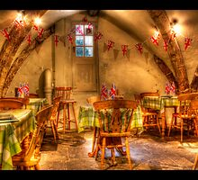 the cellar under the ice cream shop  by glphotos