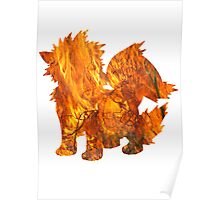 Archanine used Flame Wheel Poster