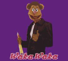 Fonzie Bear Waka Waka by MrJamma