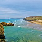 Perranporth Beach by Chris Thaxter