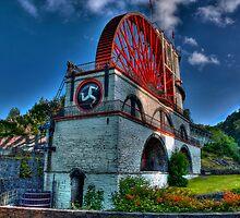 Laxey Wheel  by glphotos
