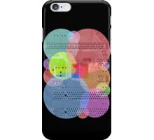 Techy Circles iPhone Case/Skin