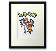 Pokemon + Ni No Kuni = Pokuni? Ninokémon? Framed Print