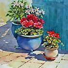 Three Flowerpots by Ann Mortimer