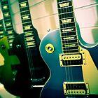 Gibson Les Paul guitars by Greg  Walker