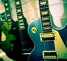 Gibson Les Paul guitars by Greg  Walker