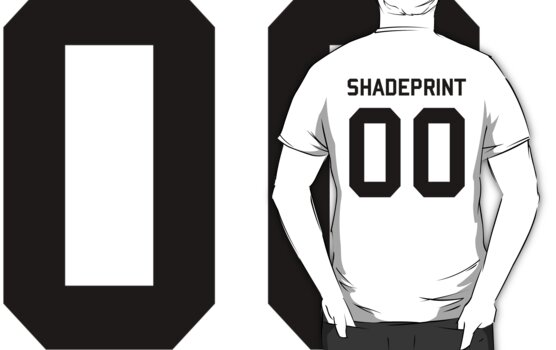 Shadeprint. | Official Numbers. [Inverse] by shadeprint